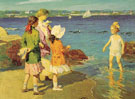 The Waters Fine - Edward Henry Potthast reproduction oil painting
