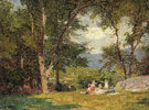 The Picnic - Edward Henry Potthast reproduction oil painting