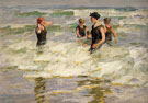 The Bathers - Edward Henry Potthast reproduction oil painting