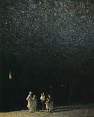 Starry Night - Edward Henry Potthast reproduction oil painting