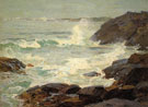 Lifting Fog - Edward Henry Potthast reproduction oil painting