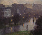 Night Scene New York City - Edward Henry Potthast reproduction oil painting
