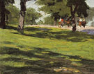 The Bridle Path - Edward Henry Potthast reproduction oil painting