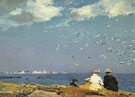 Sea Gulls - Edward Henry Potthast reproduction oil painting