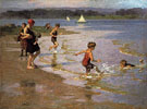 Young Bathers - Edward Henry Potthast