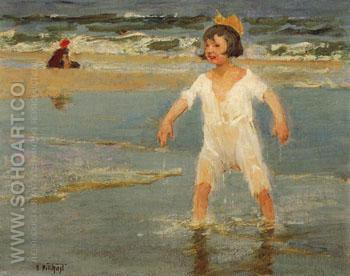 Dripping Wet - Edward Henry Potthast reproduction oil painting