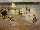 Bathing Beach Low Tide - Edward Henry Potthast