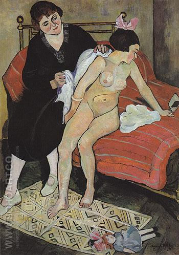 The Abandoned Doll 1921 - Suzanne Valadon reproduction oil painting