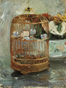 The Cage 1885 - Berthe Morisot reproduction oil painting