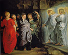 The Holy Women at the Sepulchre c1611 - Ruebens reproduction oil painting