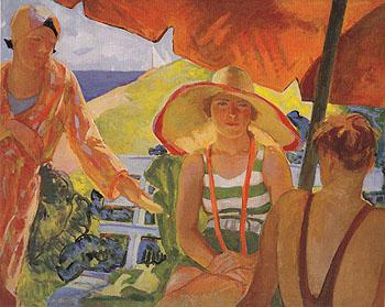 Summer Sunlight c1936 - Beatrice Whitney Van Ness reproduction oil painting