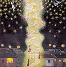 To Kiss the Spirits Now this is what it is really like 1993 - Hollis Sigler reproduction oil painting