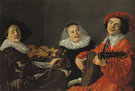 The Concert c1631 - Judith Leyster reproduction oil painting
