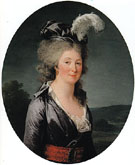 Presumed Portrait of the Marquise de Lafagette - Adelaide Labitte Guiard