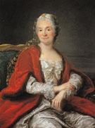Portrait of Madame Geoffrin - Marianne Loir