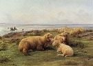 Sheep by the Sea - Rosa Bonheur