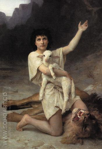 The Shepherd David 1895 - Elizabeth Jane Gardner reproduction oil painting