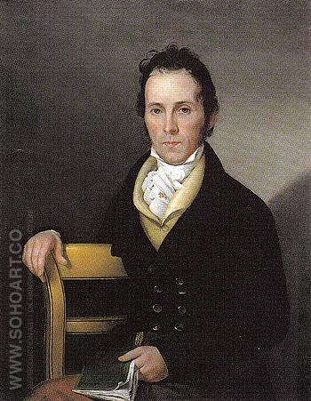 Isaac Avery 1821 - Sarah Mariam Peale reproduction oil painting