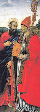 Saints Paul and Frediano - Filippino Lippi