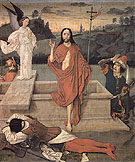 The Resurrection c1455 - Dieric Bouts