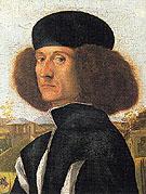 Portrait of a Venetian Nobleman c1510 - Vittore-Capaccio
