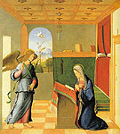 The Annunciation - Francesco Bissolo reproduction oil painting