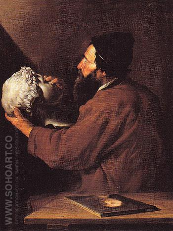 The Sense of Touch c1615 - Jusepe de Ribera reproduction oil painting