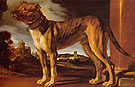 The Aldrovandi Dog c1625 - Giovanni Francesco Barbieri