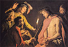 The Mocking of Christ c1633 - Matthias Stomer