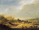Panoramic Landscape 1640 - Jan Lievens