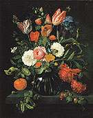 Vase of Flowers 1654 - Jan Davidsz de Heem