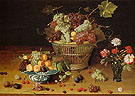 Still Life with Fruits and Flowers c1635 - Isaak Soreau