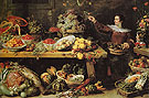 Still Life with Fruit and Vegetables c1585 - Frans Snyders