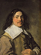 Presumed Portrait of the Painter Jan Van De Cappelle c1650 - Frans Hals
