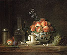 Still Life c1765 - Henri Horace Roland de la Porte reproduction oil painting