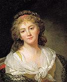 Self Portrait - Marie Genevieve Bouliar