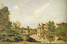 A Farmhouse 1875 - Henri Joseph Hapignies