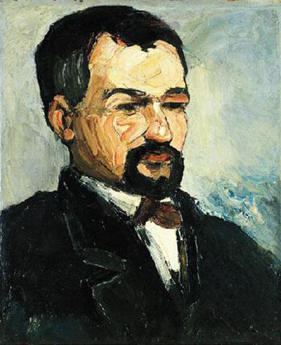 Portrait of Uncle Dominique c1865 - Paul Cezanne reproduction oil painting