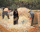 The Stone Breakers Le Raincy c1882 - Georges Seurat