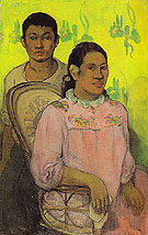 Tahitian Woman and Boy 1899 - Paul Gauguin