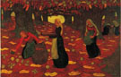 The Chestnut Gatherers 1892 - Georges Lacombe
