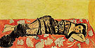 The Black Shawl 1918 - Henri Matisse reproduction oil painting