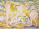 Bathing Girls 1910 - Franz Marc