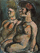 Two Nudes c1906 - George Rouault