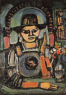 The Chinese Man 1937 - George Rouault