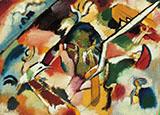 Deluge I 1912 - Wassily Kandinsky