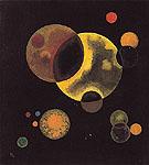 Heavy Circles 1927 - Wassily Kandinsky
