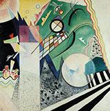 Open Green 1923 - Wassily Kandinsky
