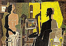 Artist and Model 1939 - Georges Braque