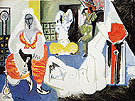 Women of Algiers I 1955 - Pablo Picasso reproduction oil painting